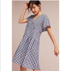 Tylho (Anthropologie) Gingham Swing dress